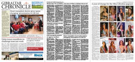 Gibraltar Chronicle – 04 February 2019
