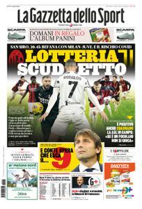 La Gazzetta dello Sport Roma – 06 gennaio 2021