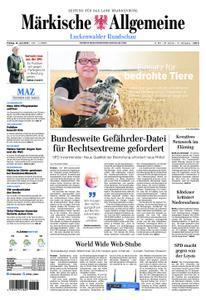Märkische Allgemeine Luckenwalder Rundschau - 12. Juli 2019