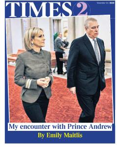 The Times Times 2 - 18 November 2019