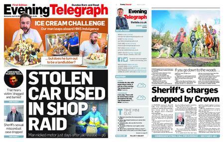Evening Telegraph First Edition – April 10, 2019