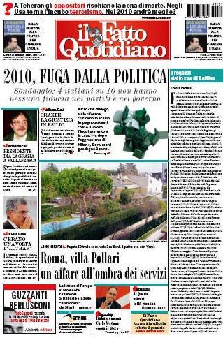 Il Fatto Quotidiano (31-12-09)
