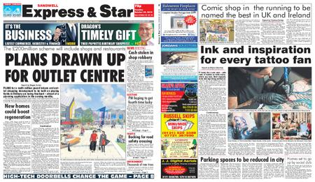 Express and Star Sandwell Edition – October 29, 2019