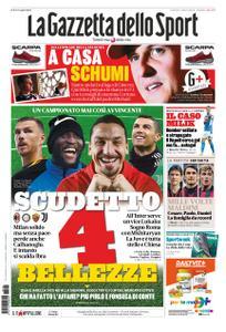 La Gazzetta dello Sport Roma – 08 gennaio 2021