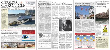 Gibraltar Chronicle – 28 August 2020
