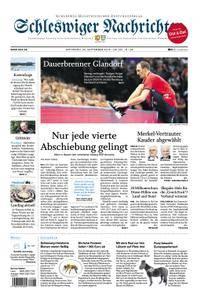 Schleswiger Nachrichten - 26. September 2018