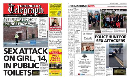 Greenock Telegraph – May 23, 2019