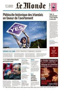 Le Monde du Dimanche 27 et Lundi 28 Mai 2018