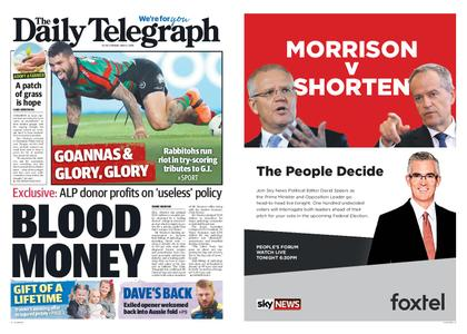 The Daily Telegraph (Sydney) – May 03, 2019