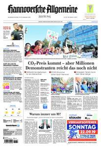 Hannoversche Allgemeine Zeitung - 21. September 2019