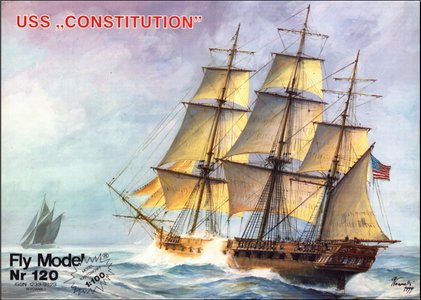 Fly Model 120 - USS Constitution
