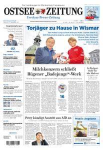 Ostsee Zeitung Wolgast - 27. September 2017