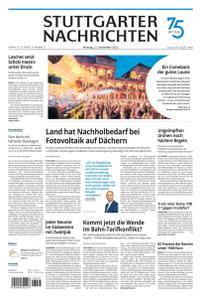 Stuttgarter Nachrichten - 13 September 2021