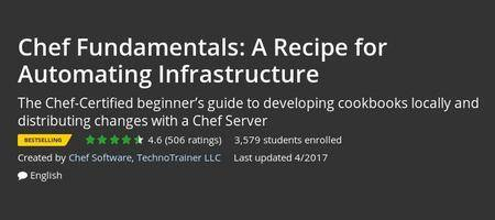 Udemy - Chef Fundamentals: A Recipe for Automating Infrastructure
