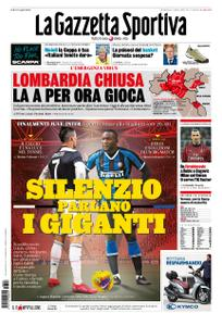 La Gazzetta dello Sport Roma – 08 marzo 2020