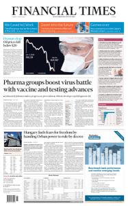 Financial Times Europe - March 31, 2020