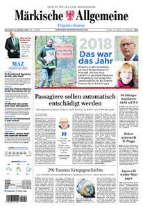 Märkische Allgemeine Prignitz Kurier - 27. Dezember 2018