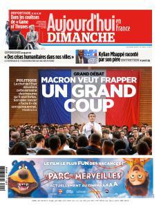 Aujourd'hui en France du Dimanche 14 Avril 2019