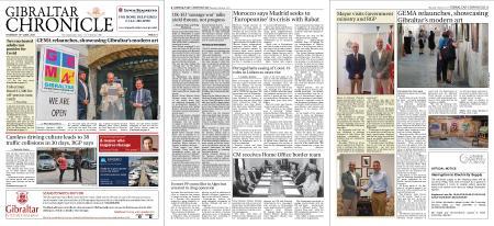 Gibraltar Chronicle – 10 June 2021