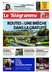 Le Télégramme Brest – 13 décembre 2019