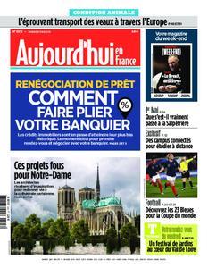 Aujourd'hui en France – 03 mai 2019