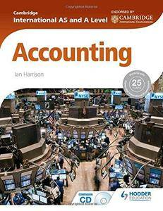 Cambridge International AS and A Level Accounting (Repost)