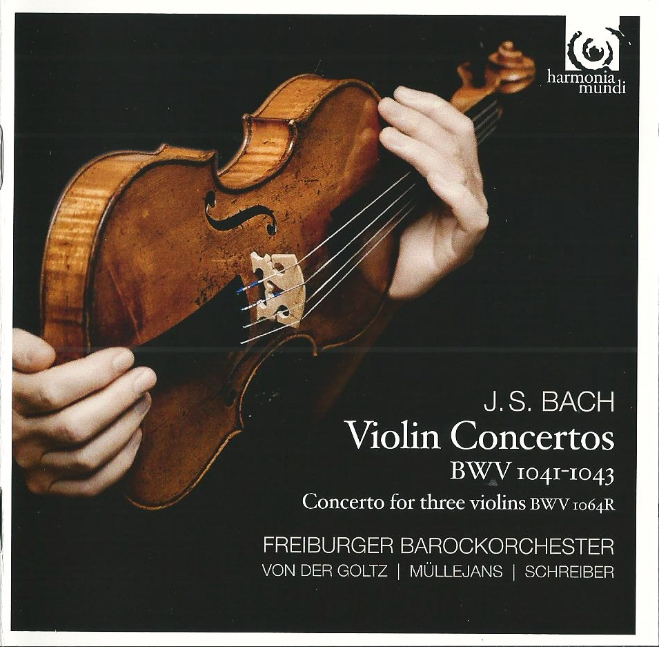 Freiburger Barockorchester - J.S. Bach: Violin Concertos (2013)