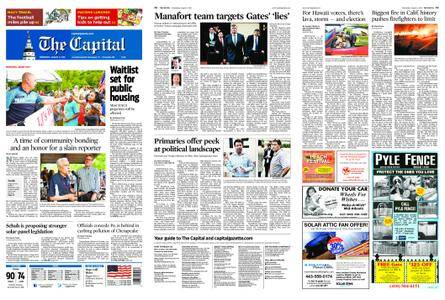 The Capital – August 08, 2018