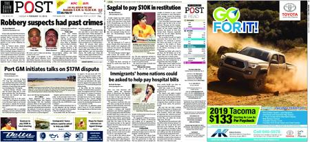 The Guam Daily Post – February 12, 2019