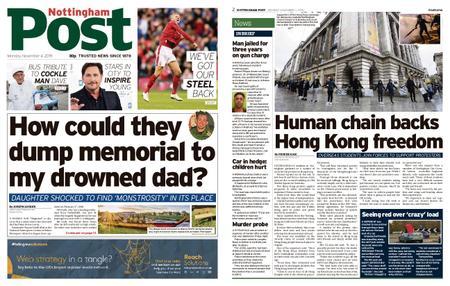 Nottingham Post – November 04, 2019