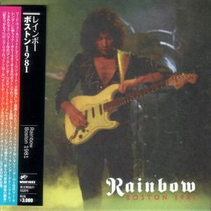 Rainbow - Boston 1981 (2016) {Japan 1st Press}