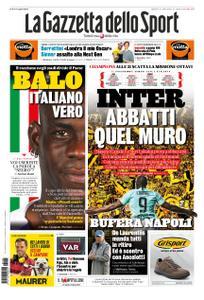 La Gazzetta dello Sport Roma – 05 novembre 2019