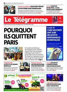 Le Télégramme Ouest Cornouaille – 20 mars 2021