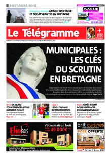 Le Télégramme Brest Abers Iroise – 17 février 2020