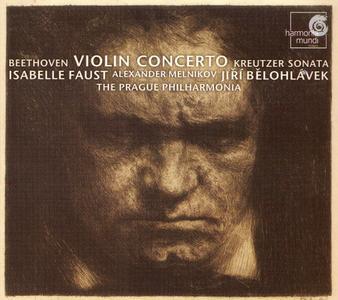 Isabelle Faust, Jiří Bělohlávek, Alexander Melnikov - Beethoven: Violin Concerto, Kreutzer Sonata (2007)