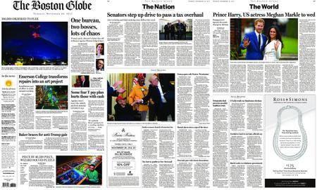 The Boston Globe – November 28, 2017