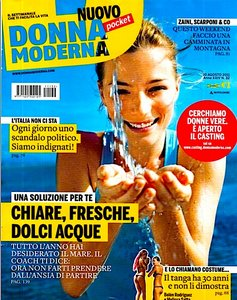 Donna Moderna N°32 - 10 Agosto 2011
