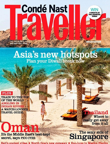 Conde Nast Traveller India - August/September 2011