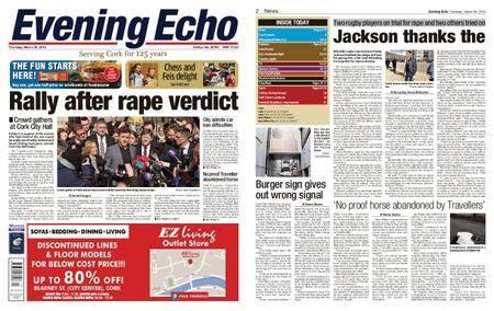 Evening Echo – March 29, 2018