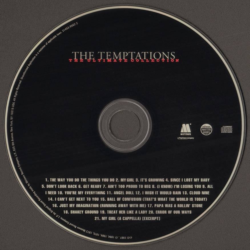 Temptations Ultimate Collection: The Ultimate Collection (1997) / AvaxHome