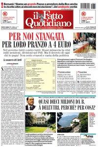 Il Fatto Quotidiano (12-08-11)