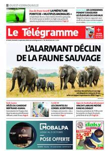 Le Télégramme Ouest Cornouaille – 11 septembre 2020