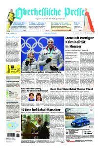 Oberhessische Presse Marburg/Ostkreis - 16. Februar 2018