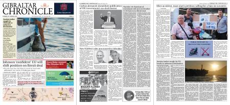 Gibraltar Chronicle – 20 August 2019