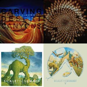 Scale The Summit - 4 Studio Albums (2009-2015)