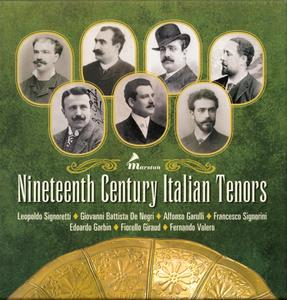 Various Artists - Nineteenth Century Italian Tenors (2016) {3CD Set Marston 53018-2}