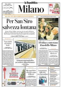 la Repubblica Milano - 18 Dicembre 2019