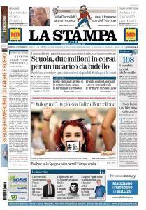La Stampa Torino Provincia e Canavese - 8 Ottobre 2017