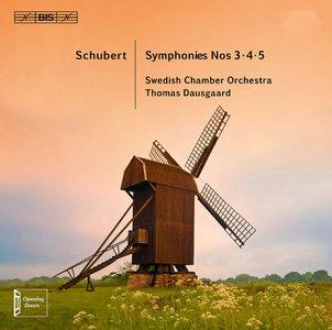 Swedish Chamber Orchestra, Thomas Dausgaard - Franz Schubert: Symphonies Nos. 3-5 (2013)