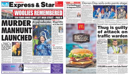 Express and Star Sandwell Edition – January 04, 2019